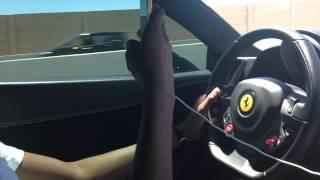 Ferrari 458 Italia INSANE Acceleration - Vegas Bday