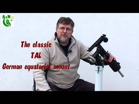 The classic TAL German equatorial mount
