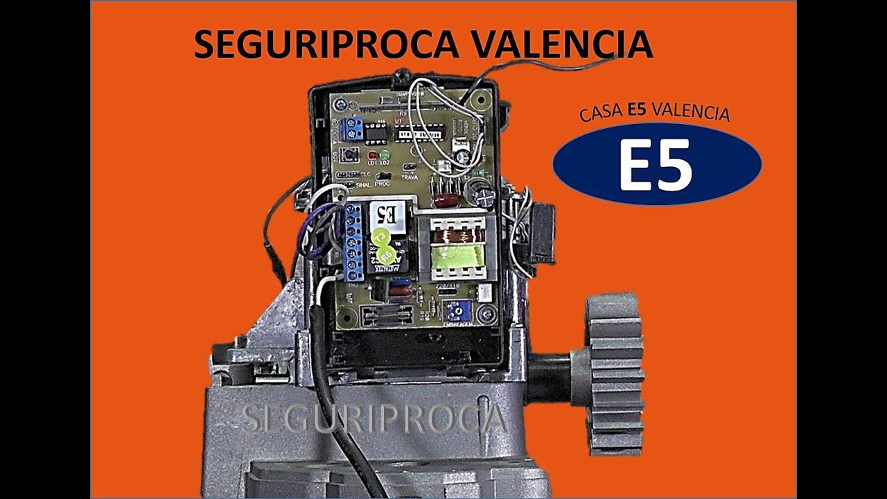 Fabricar motor port n el ctrico casero con neo e5 facil for Motor porton electrico
