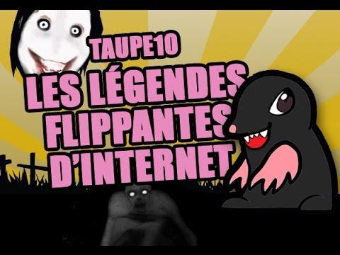 TOP 10 des légendes FLIPPANTES d'internet