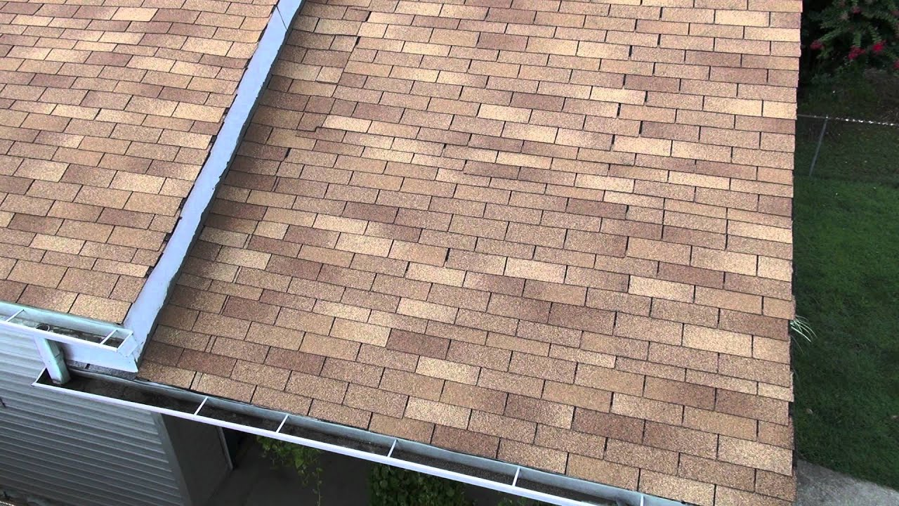 Horrible 3 Tab Shingle Roofing Job Youtube