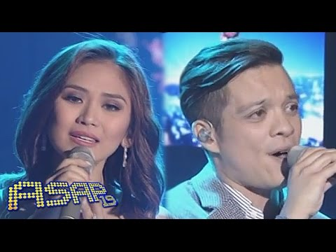 Sarah Geronimo, Bamboo Sing almost Is Never Enough On Asap video