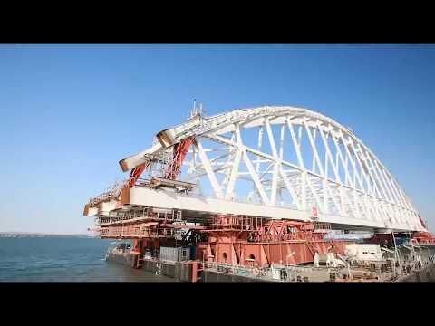 Крымский мост. История, комментарии Украинских политологов.