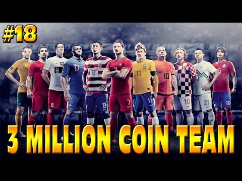 FIFA 15 - 3 MILLION COIN TEAM - CAN I BEAT IT?? ROAD TO LFC ULTIMATE TEAM RTG #18