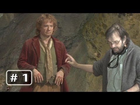 The Hobbit Behind the Scenes B-Roll Part 1