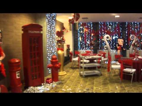 Decoración para fiesta de betty Boop - Imagui