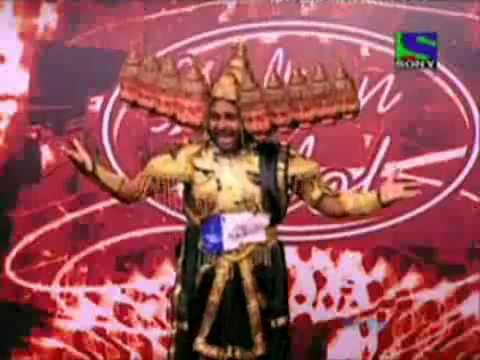 Indian Idol 5 FUNNY  Audition-art of gardening
