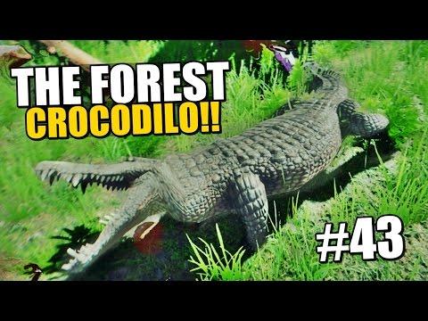 The Forest - FOMOS ATACADOS POR CROCODILOS!! #43