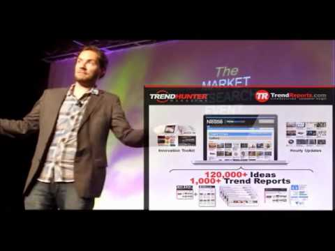 2012 Trend Report Platform Launch at The Market Research Event (TrendHunter.com)