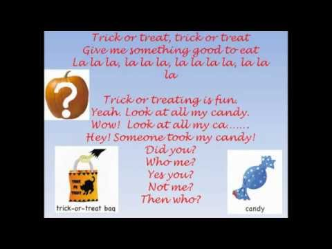Who took the candy?  Halloween song.