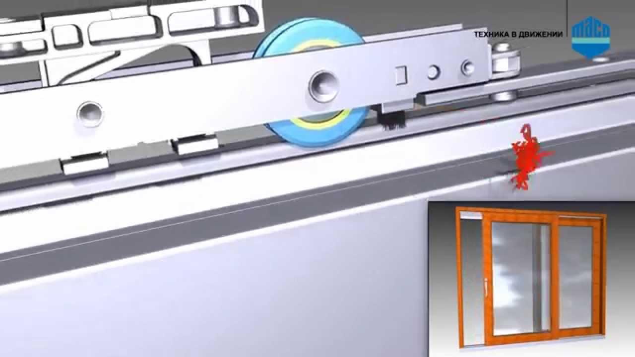 Как правильно подобрать фурнитуру для раздвижных окон из алю.