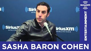 Sacha Baron Cohen Gets Serious about Trump // SiriusXM // Entertainment Weekly Radio