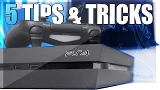 5 Things You Probably Didn't Know About On PS4! (PS4 Secret Tips & Tricks)