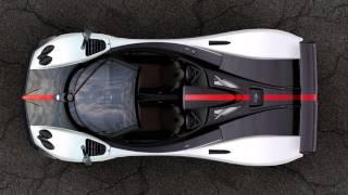 Pagani Cinque Roadster driven by autocar.co.uk