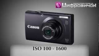 Видеообзор Canon PowerShot A3400 IS