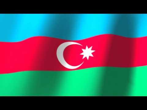 Flag of Azerbaijan - Azərbaycan bayrağı