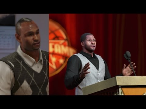 NBA 2K14 PS4 My Career Hall of Fame Speech