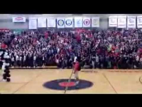 Trevor Dunn - Performs National Anthem for the Clackamas High School Pep Assembly