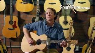 "Goodall Guitars: Cedar/Maple Grand Concert ""Pacific"" Acoustic Guitar"
