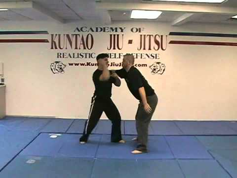 Kuntao Jiu-Jitsu Instructional Training Videos: Back Bear Hug Defense Image 1