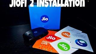 Reliance Jio JioFi 2 Installation