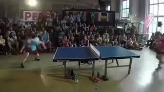 New development in table tennis or football