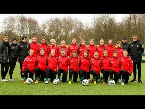 Merginų U-16 rinktinė išvyko į turnyrą Minske
