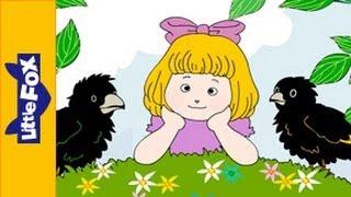Two Little Blackbirds | Nursery Rhymes by Little Fox
