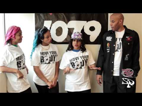 The OMG GIRLZ & REEC PayUSA of Hot 107.9 fm