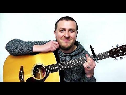 The Scientist - Easy Beginners Guitar Tutorial - Coldplay - Drue James