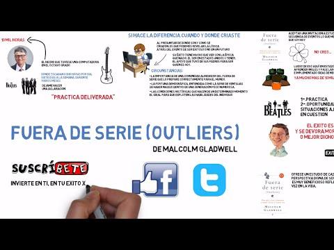 FUERA DE SERIE (OUTLIERS) DE MALCOLM GLADWELL - RESUMEN ANIMADO