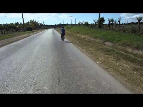 Along the road between Sancti Spiritus and Trinidad, Cuba.  Day 11.