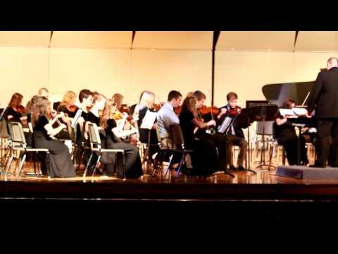 Osbourn Park High School Orchestra - Brandenburg Concerto #3