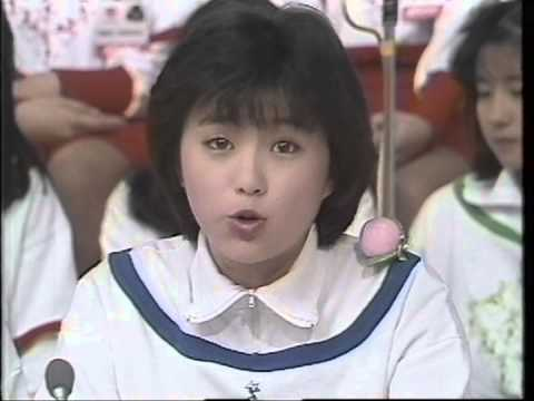 15歳の頃の酒井法子が超絶可愛い件、今のアイドル全員倒せるわ