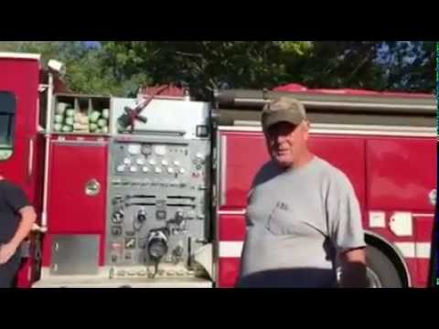Man's grocery store rant at firefighters goes viral