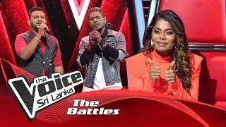 The Battles : Harshana Jayasundara V Danushka   Pem Sihine  The Voice Sri Lanka