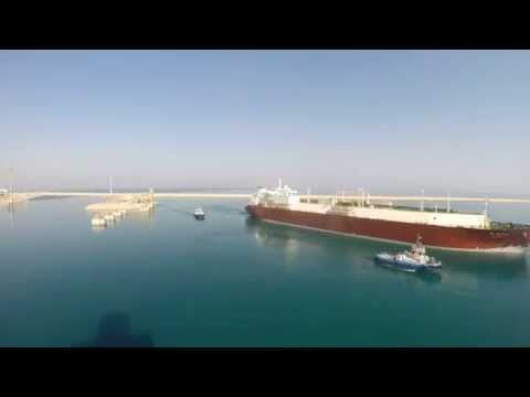 LNG/C voyage Time-lapse (GoPro 3+ BE)