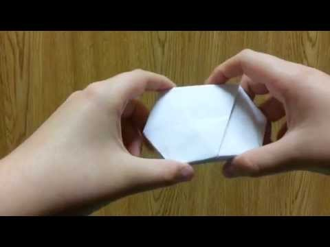 Origami Triangular Prism Gift Box, Designed By Jeremy Shafer - Not A Tutorial