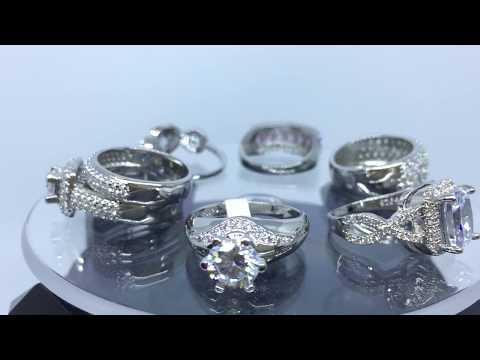 Gambar Cincin Kawin Emas Putih Berlian