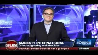 Ezra Levant o hipokryzji Amnesty International