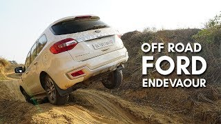 ALL NEW FORD ENDEVAOUR OFF ROAD | Offroading in India | Hindi | Auto Encyclo