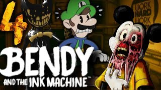 IS THAT CHAPTER 4?! - OH NAH... - BENDY AND THE INK MACHINE: DOWN FALL (FAN-GAME)   SUICIDE MOUSE ?