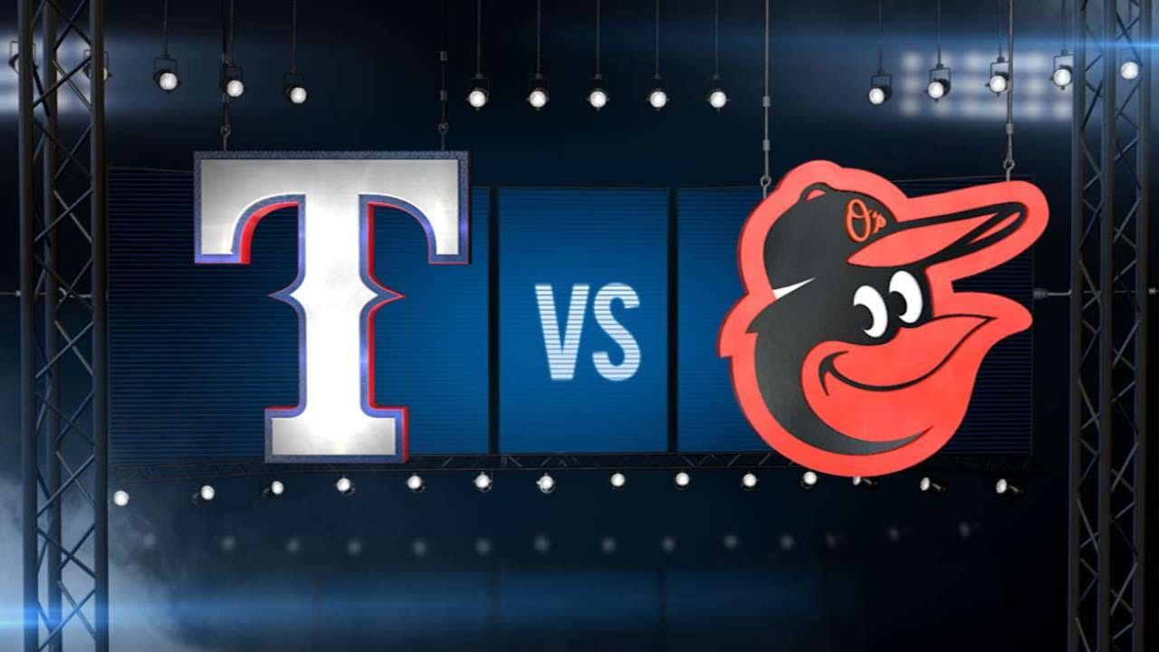 6/30/15: Hamilton returns, Rangers power past O's