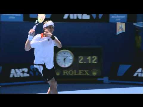 David Ferrer - The Open Drive: Australian Open 2011