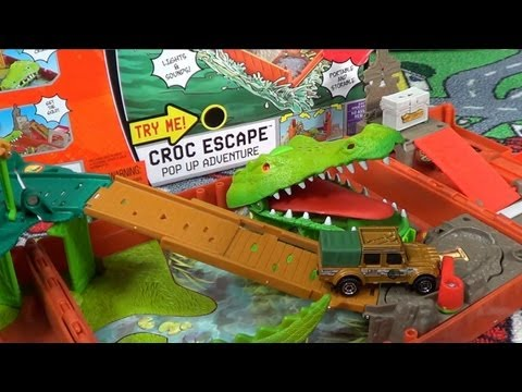 Matchbox Croc Escape Pop Up Adventure From 2008
