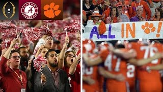 Alabama Or Clemson: Which Fan Base Is More Confident? | Inside The National Championship