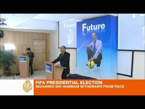 Bin Hammam pulls out of FIFA race