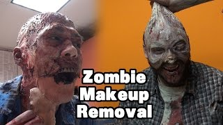Zombie Makeup Removal
