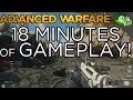 18 MINUTES of Call of Duty: Advanced Warfare Gameplay! Multiplayer Hands-On Walkthrough