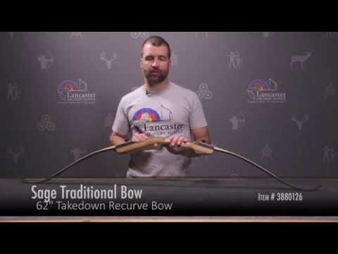 Sage Takedown Recurve Bow Review at LancasterArchery.com